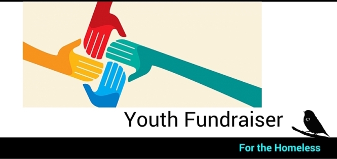 Youth Fundraiser Banner with Text